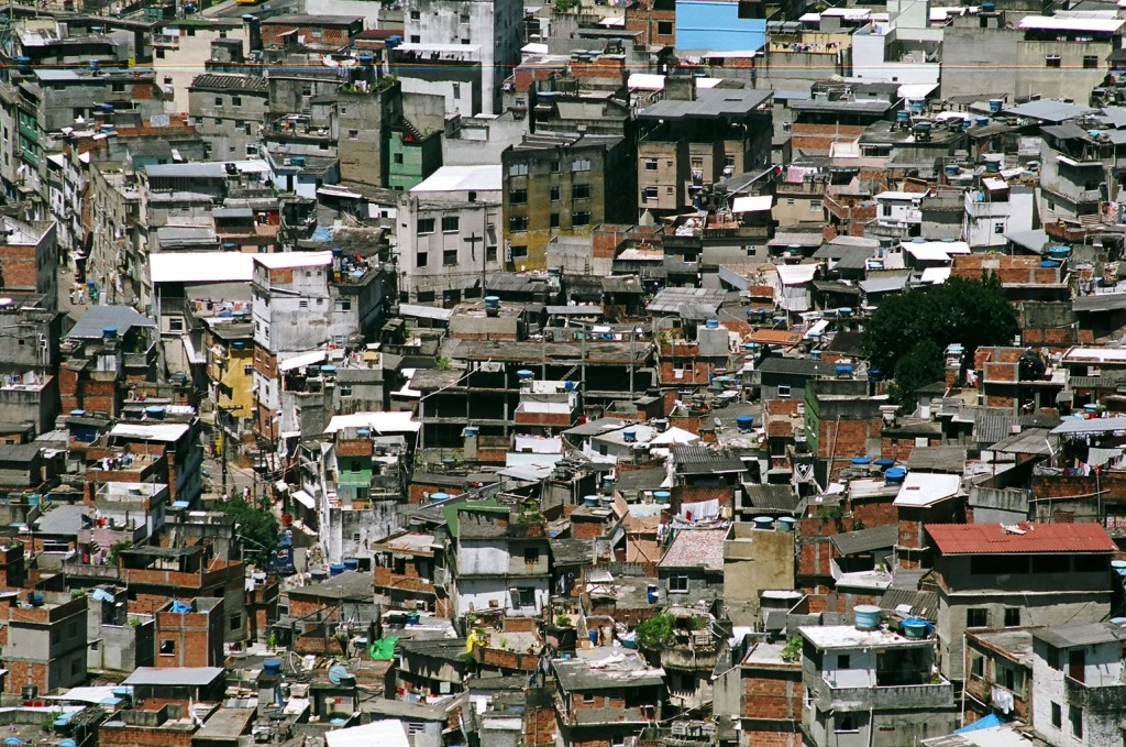 Rocinha, the largest favela in Rio