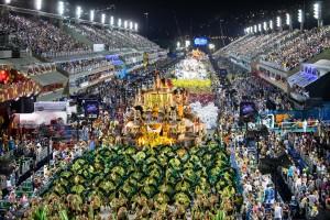 Carnival Rio de Janeiro Samba Schools
