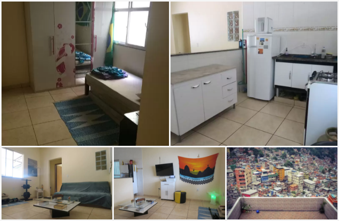 Favela Cheap Rooms for Rent Olympics 2016