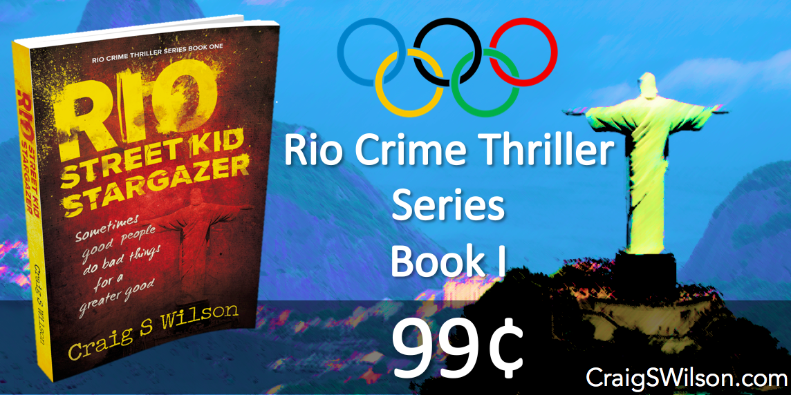Celebrate #Olympics2016 with a 99¢ Crime Thriller set in Rio!