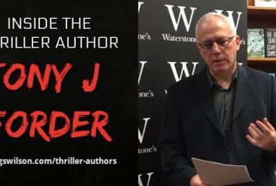Thriller Author Tony J Forder