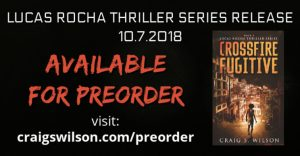 international crime thriller Preorder Crime Thriller CROSSFIRE FUGITIVE!
