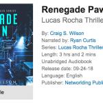 crime thriller audiobook