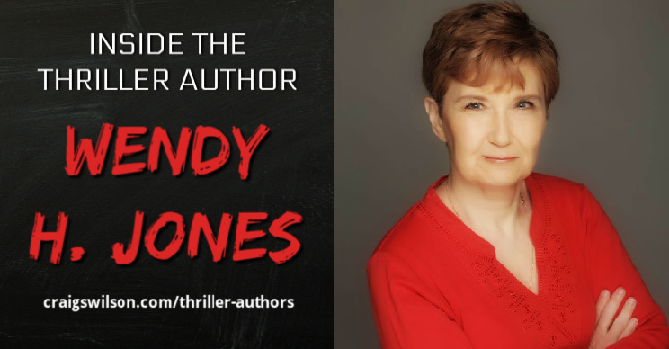 Inside the Thriller Author Wendy H. Jones